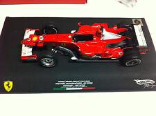 Hot Wheels 2006 M. Schumacher Ferrari Monza 90 Wins Signed Figurine 1/18