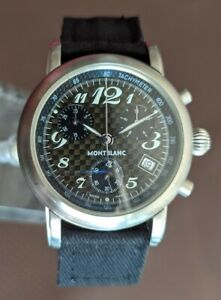Montblanc 7046 Meisterstuck Chronograph with Carbon Dial