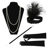 1920 's Charleston Gatsby flapper gangster Déguisements costume accessoires lot