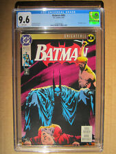 DC Comics – Batman #493 CGC 9.6 – Knightfall Part 3