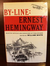 1967 By-Line: Ernest Hemingway 1st Edition 1st Printing DJ Collection Article