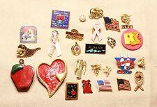 Vintage & Non vintage Lapel Pins Teacher Angels Jewelry Making Craft DIY 26 pcs