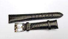 59f7c770f6fe Correa de Cuero Genuino para EMPORIO ARMANI Relojes 18mm. Negro. (AR-2)