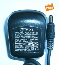 PDS SWITCHING POWER SUPPLY UE06W-050120SPA3 5V 1.2A UK PLUG