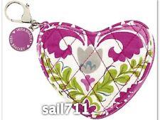 Vera Bradley Limited Edition Heart Sweetheart Coin Purse Bag Julep Tulip *NWT*
