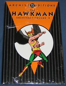 Hawkman Volume #2 DC Archives Still Sealed In Original Wrap NM