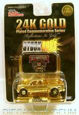 1999 '99 FORD F350 TRUCK DUALLY DOOLEY 24K GOLD PLATED STOCKRODS DIECAST RARE