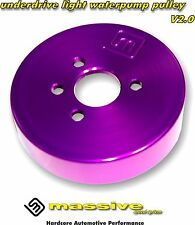 Massive Under Drive Light weight Aluminum Water Pump Pulley Duratec 2.0 2.3 WP 7