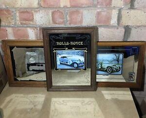 Rolls Royce Vintage Mirrors X3 -