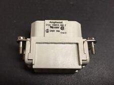 Amphenol C146-10B-0515-500-2 Connector 600V, 250V, 10A C146-D (1pc)