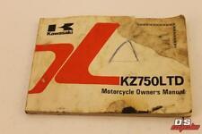 KAWASAKI KZ750 LTD H3 OWNERS MANUEL KZ750H3 H3