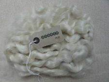 30g (approx. 1oz) MOHAIR. PLATINUM  - waves