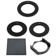 49/62/58 MM ADAPTER RINGS + FULL ND8 FILTER + P-HOLDER FOR COKIN P SERIES System