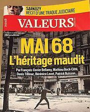 VALEURS ACTUELLES*28/3/2018*MAI 68*SARKO TRAQUÉ*POUTINE SACRÉ*DIEU CRÈVE L'ECRAN