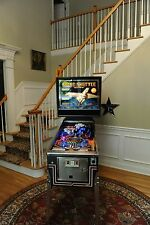 Awesome restored! Space shuttle Pinball 1984 machine by Williams. New Playfield!