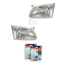 Headlight Set for Toyota Starlet Built 02/96- >> H4 Headlight