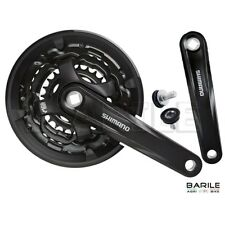 Guarnitura + Braccio Pedivella Att. Quadro 28 - 38 - 48 Bici City Bike SHIMANO
