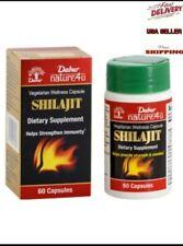 Dabur Shilajit Dietary Supplement Vegetarian Welness Strengthen Immunity, 60cps