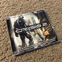 CRYSIS 2 Complete 2 CD VG Soundtrack Hans Zimmer LIMITED ED OOP!