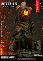 The Witcher Geralt of Rivia Skellige Undvik Armor Statue Prime 1 Sideshow EXCL.