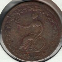 1814 Lower Bas Canada - ½ Penny - Spread Eagle - LC-54C1 - Superfleas - F/VF