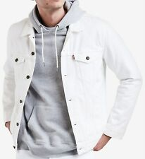 Levis Men's Denim Jacket Trucker - White - sizes ,,,