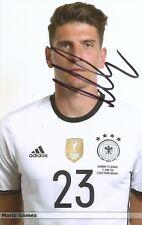 Mario Gomez  DFB Fußball Foto original signiert 359268