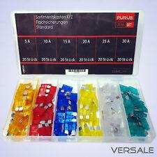 20x  KFZ-Sicherungen // Midi 15mm + Mini Flachsicherungen 11mm
