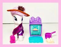 "My Little Pony 3"" Rarity with Disney Accessories Lot"