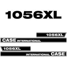 Case International 1056 XL tractor decal aufkleber adesivo sticker set