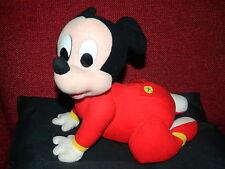 Walt Disney / Mattel 1995 - Krabbel Mickey - sehr selten - batteriebetrieben