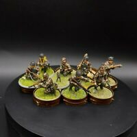 Well Painted 28mm Bolt Action Ww2 german Fallschirmjager Squad #4 warlord games