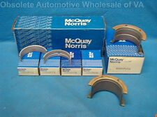 Chevy 262 267 302 305 307 327 350 Main Bearing Set STD USA Made 1967 - 86