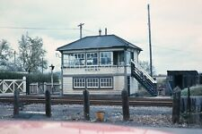 Railway Slide: Leaton Signal Box, Shropshire Date Unknown                 2/123x