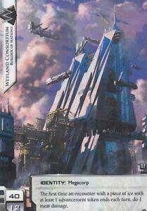 Netrunner  LCG Official FFG Wyldside Alt Art Promo Card