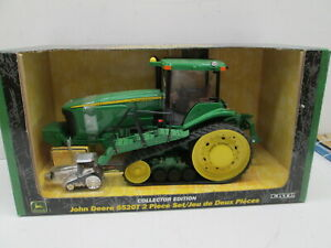 JOHN DEERE 8520T, COLLECTOR EDITION, WITH SILVER 1/64TH, 8520T, NICE BOX