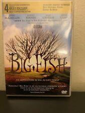 Big Fish (Dvd, 2004) -Free Shipping
