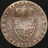 1768 | George III 'In Memory Of The Good Old Days' Gaming Token | KM Coins