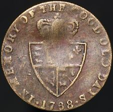 More details for 1768 | george iii 'in memory of the good old days' gaming token | km coins