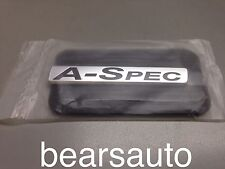 ACURA A-SPEC BADGE SUPER RARE OEM GENUINE ORIGINAL BRAND NEW
