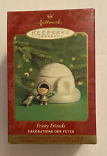 "2000 Hallmark Keepsake ""Frosty Friends� Ornament ""Premier Exclusuve "" New"