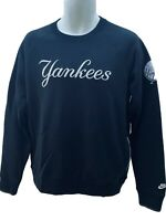 New Vintage Nike Sportswear NSW MLB New York YANKEES  Sweatshirt Black M