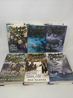 Lot of 6 Prelude to Glory Volumes 1-6 By Ron Carter Hardcover Book Set DJ Good