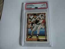 1992 TOPPS MIKE MUSSINA ROOKIE CARD PSA GRADED 10 GEM MINT
