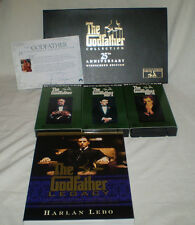 25TH ANNIVERSARY THE GODFATHER TRILOGY LIMITED EDITION VHS AUTOGRAPH COLLECTION