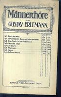 """Gustav Erlemann ~ """" Hagen """" Op. 30 ~ für Männerchor"""