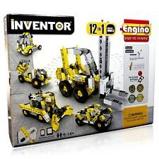 Engino ENG-1234 Inventor - Build 12 Construction Models Building Kit**SPECIAL!!!