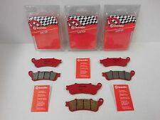 Brembo Bremsbeläge Bremsklötze Bremse vorne + hinten Honda VFR 800 RC46 FI ABS