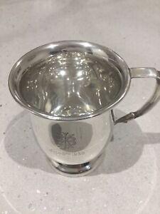 Antique Sterling Silver Christening Tankard. I.S Greenberg. Birmingham 1937. 91g