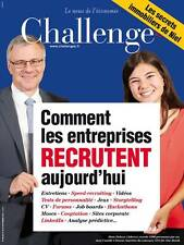 CHALLENGES n° 490 du 28/09/2016*Les secrets de NIEL*RECRUTEMENT*ALSTOM*ARDISSON
